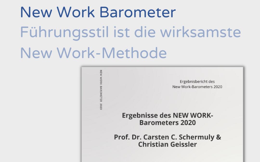 Führungsstil ist die wirksamste New Work-Methode